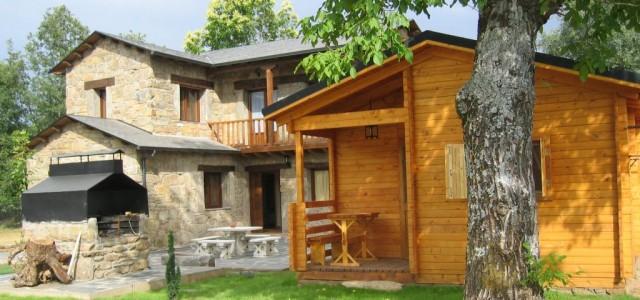 Casa de 8 plazas y cabaña